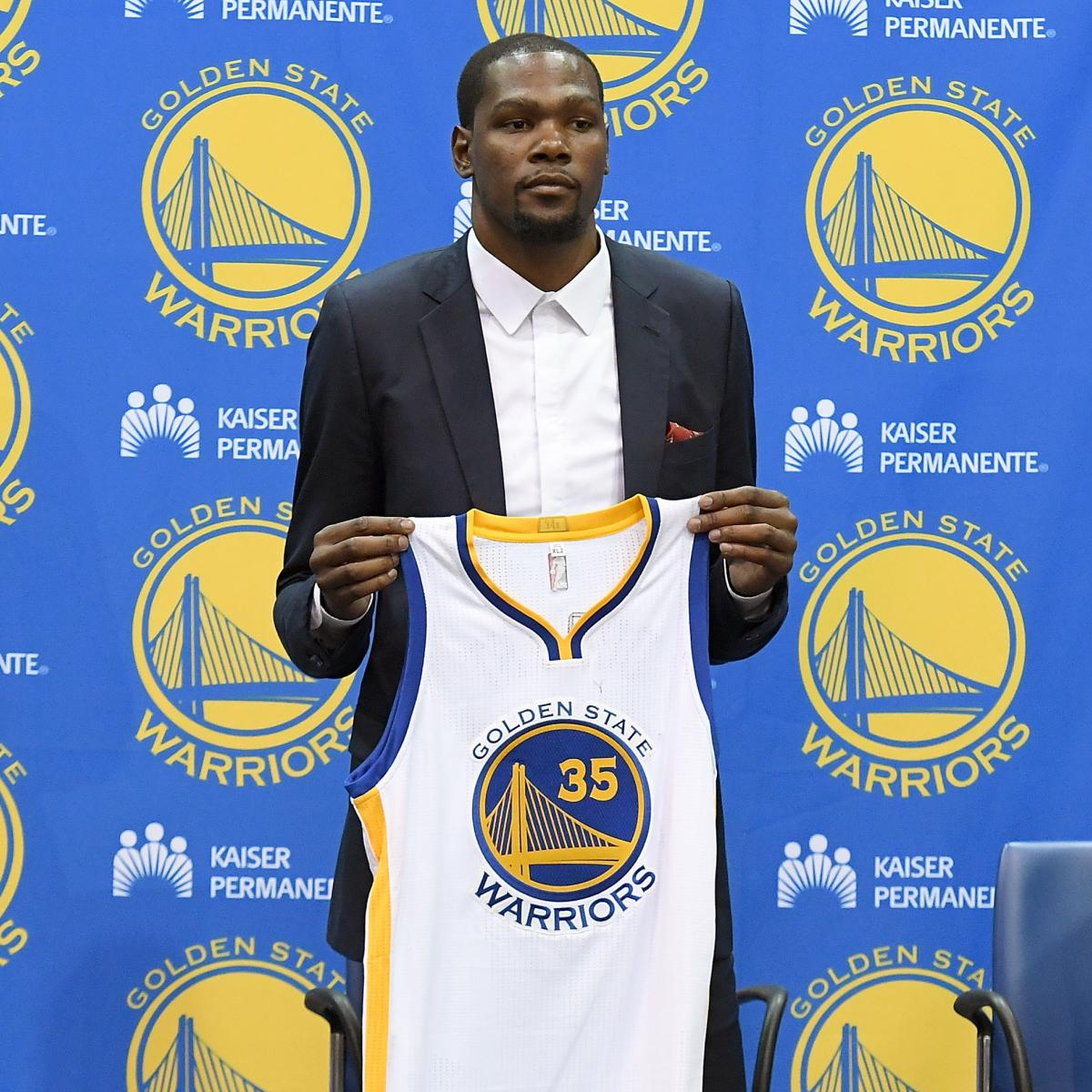 Kevin Durant Is Already Warriors Biggest Difference Maker: Kevin Durant To Warriors: Latest Contract Details
