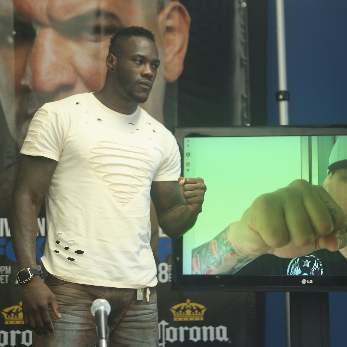 Deontay Wilder Vs. Chris Arreola: Preview And Prediction