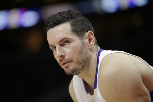 61f830b2054 Los Angeles Clippers  J.J. Redick watches during the first half of an NBA  basketball game