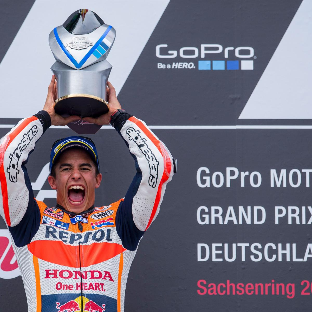 MotoGP Grand Prix of Germany 2016 Results: Winner, Standings and Reaction | Bleacher Report ...