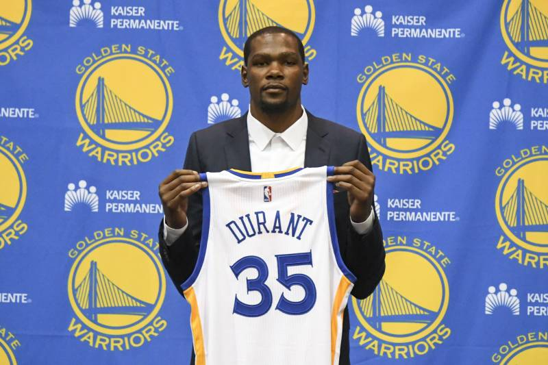 8ff3e7b91901 Kevin Durant Did OKC Thunder a Favor by Leaving for Golden State ...