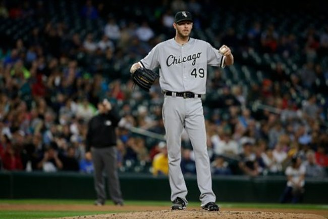 best service b9601 a0d6f Chris Sale Suspended by White Sox After Clubhouse Incident ...