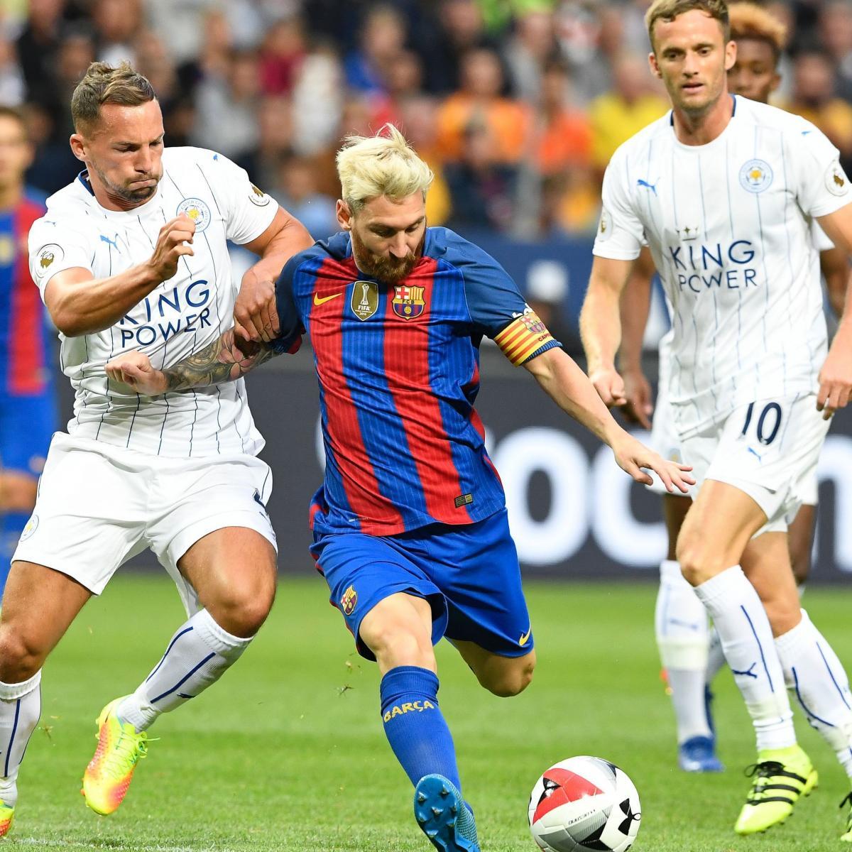 Barcelona Vs Leicester City