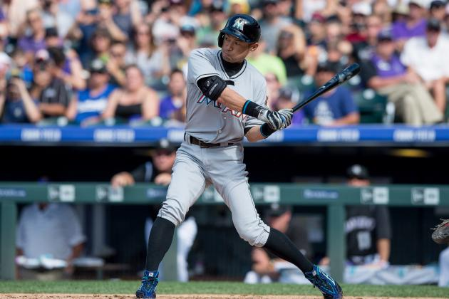 Ichiro Suzuki Collects 3,000th Career MLB Hit vs. Rockies ...