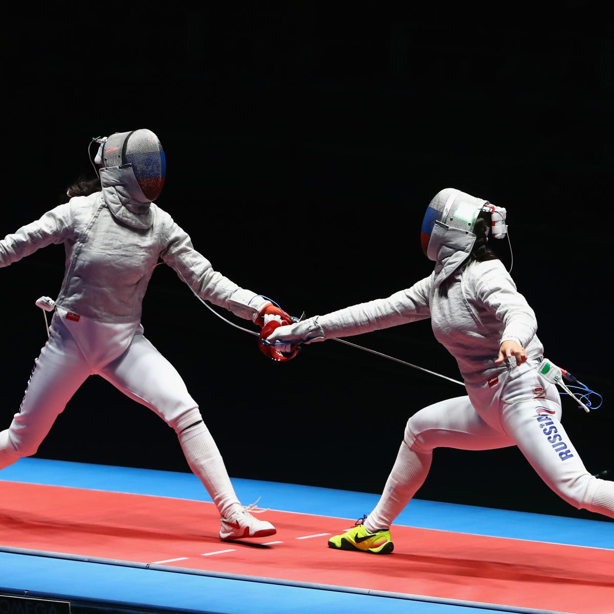 Olympic Fencing 2016: Medal Winners and Scores After ...