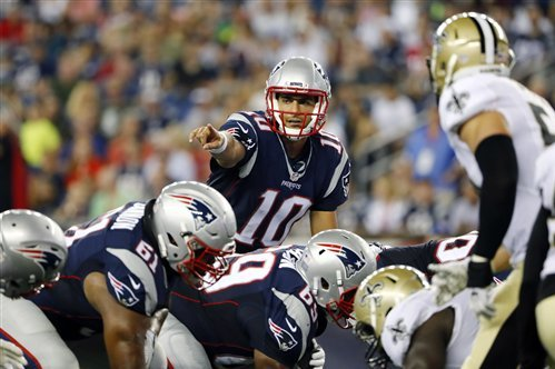 4817b0eb Saints vs. Patriots: Score and Twitter Reaction from 2016 Preseason ...
