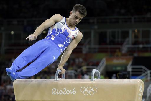 olympic men s gymnastics 2016 pommel horse medal winners scores