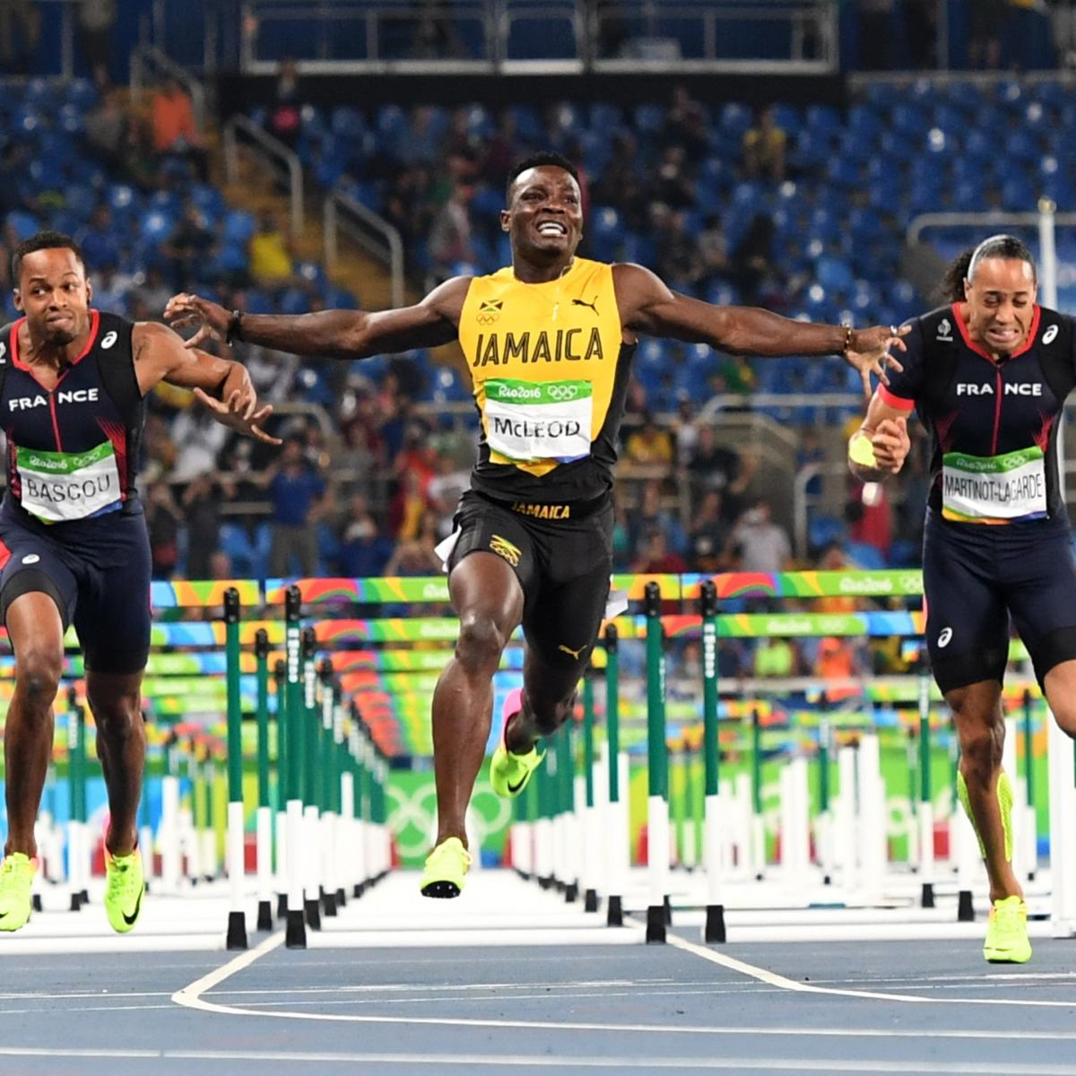 Track Winner: Olympic Track And Field 2016: Men's 110M Hurdles Medal