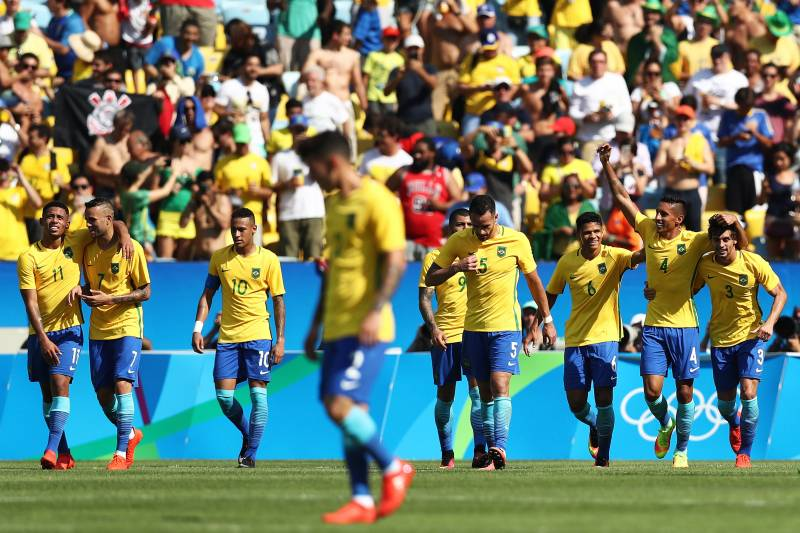 Olympic Soccer 2016: Brazil vs  Germany Live Stream, Odds and