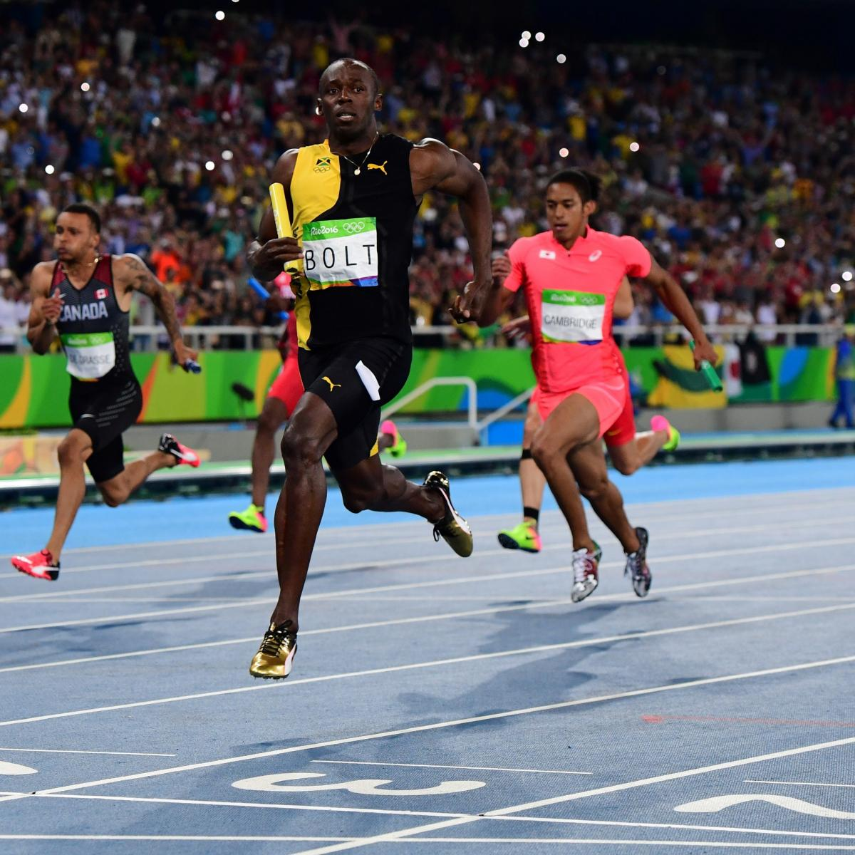 Track Winner: Olympic Track And Field 2016: Men's 4x100M Relay Medal
