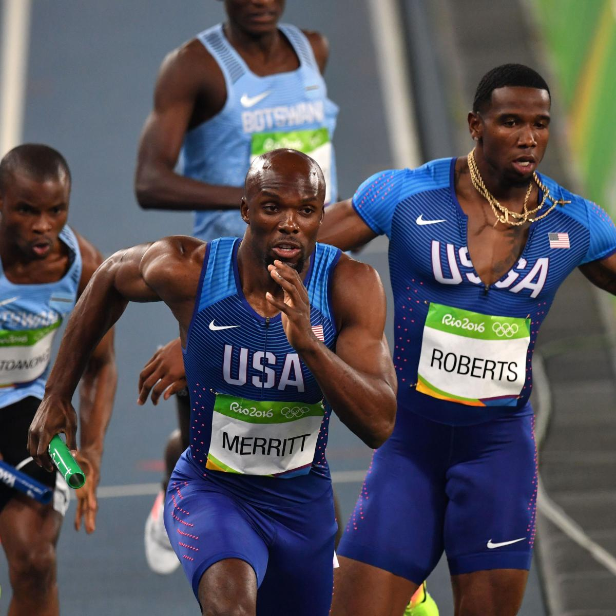 Track Winner: Olympic Track And Field 2016: Men's 4x400M Relay Winners