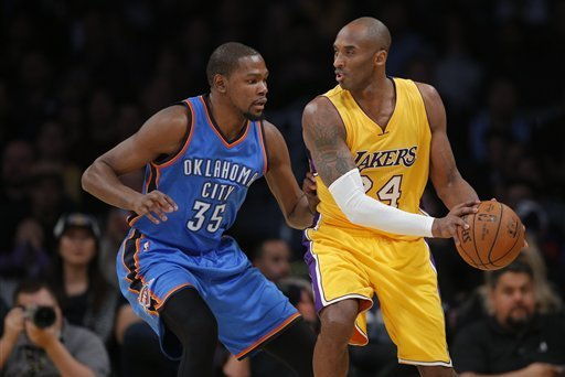 Kobe Bryant Comments on Kevin Durant Signing with Warriors, More