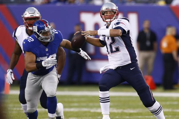 1caf955df41 Patriots vs. Giants  Score and Twitter Reaction from 2016 Preseason ...