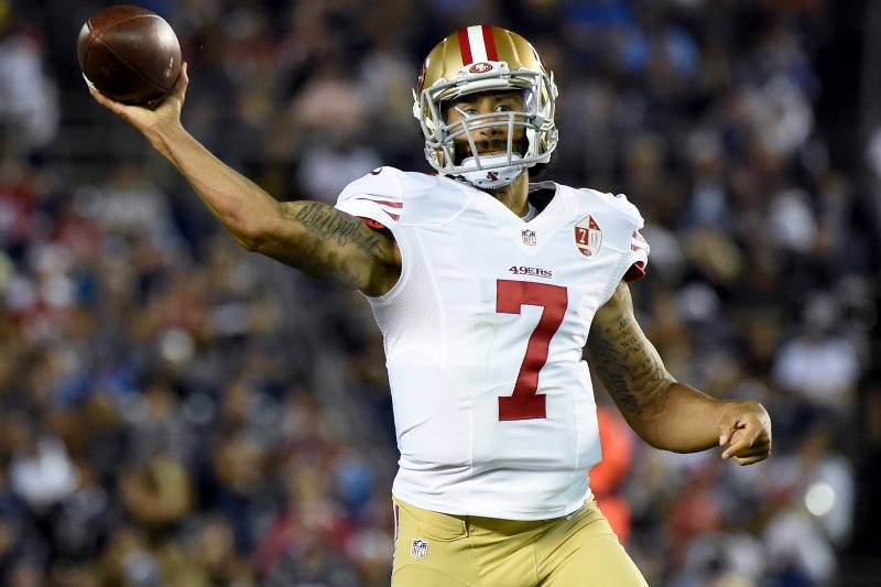 12b280374c1 Colin Kaepernick Has NFL s Top-Selling Jersey Since National Anthem Protest