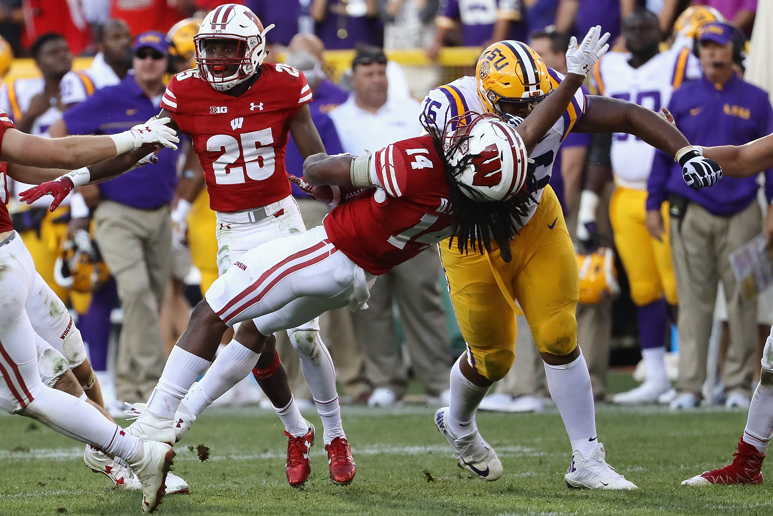 Lsu vs wisconsin betting line walt bettinger religion