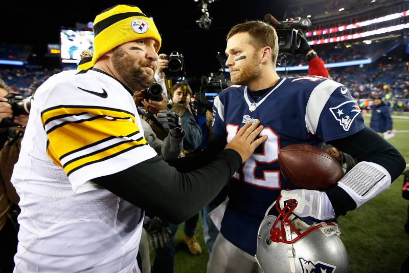 Image result for tom brady ben steelers