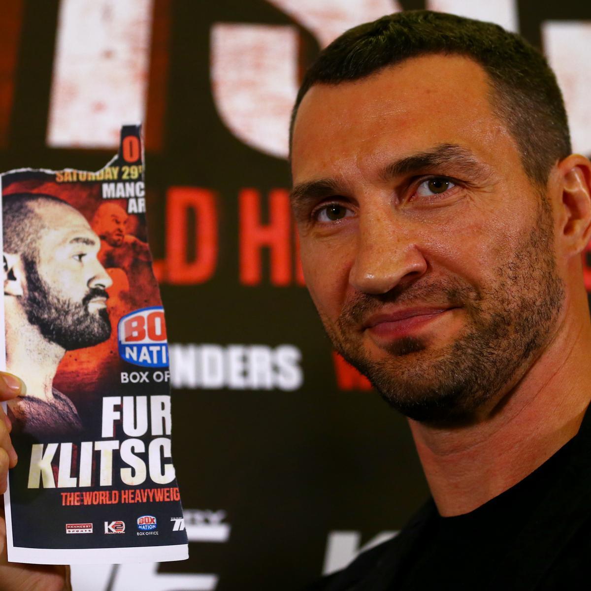 The Never-Ending Story: Tyson Fury And Wladimir Klitschko