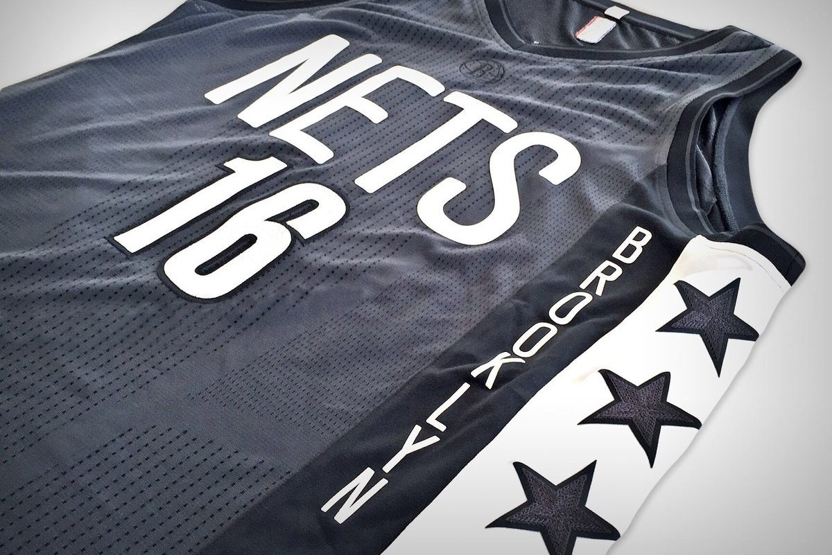 a7dd7b56f Nets Unveil New  Brooklyn Remix  Alternate Uniforms for 2016-17 Season