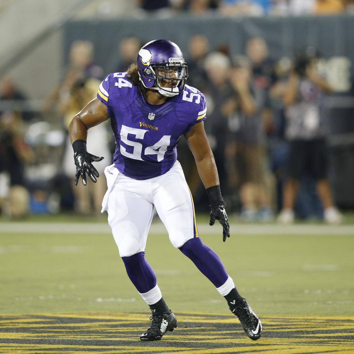 943aaabbe70 Eric Kendricks Injury: Updates on Vikings LB's Concussion, Hip and Return    Bleacher Report   Latest News, Videos and Highlights