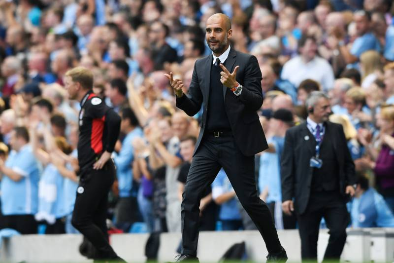 a708df4d3 Pep Guardiola has Manchester City purring after the first five Premier  League games of the season