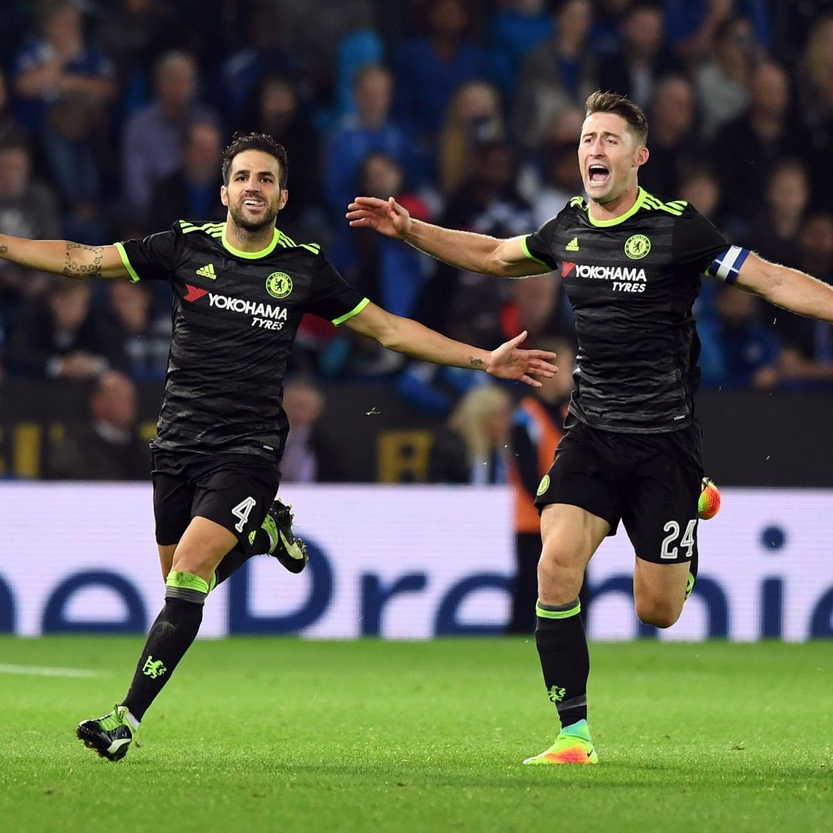 Chelsea Vs Tottenham Score Reaction From 2016 Premier: Leicester City Vs. Chelsea: Score, Reaction From 2016 EFL