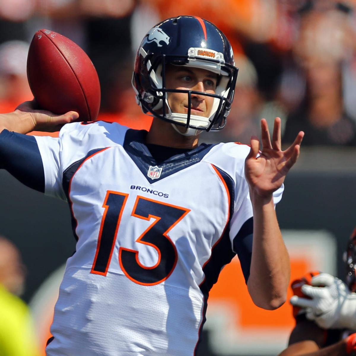 Denver News Road Conditions: Trevor Siemian's Development Making Denver Broncos AFC