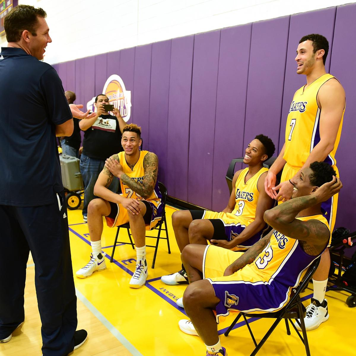 Los Angeles Lakers 2016 17 Nba Training Camp Roster Rankings Bleacher Report Latest News Videos And Highlights