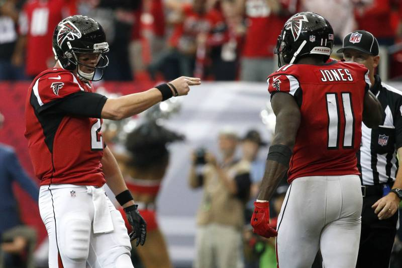 info for 5f140 df4af Julio Jones-Matt Ryan Connection Makes Atlanta Falcons ...