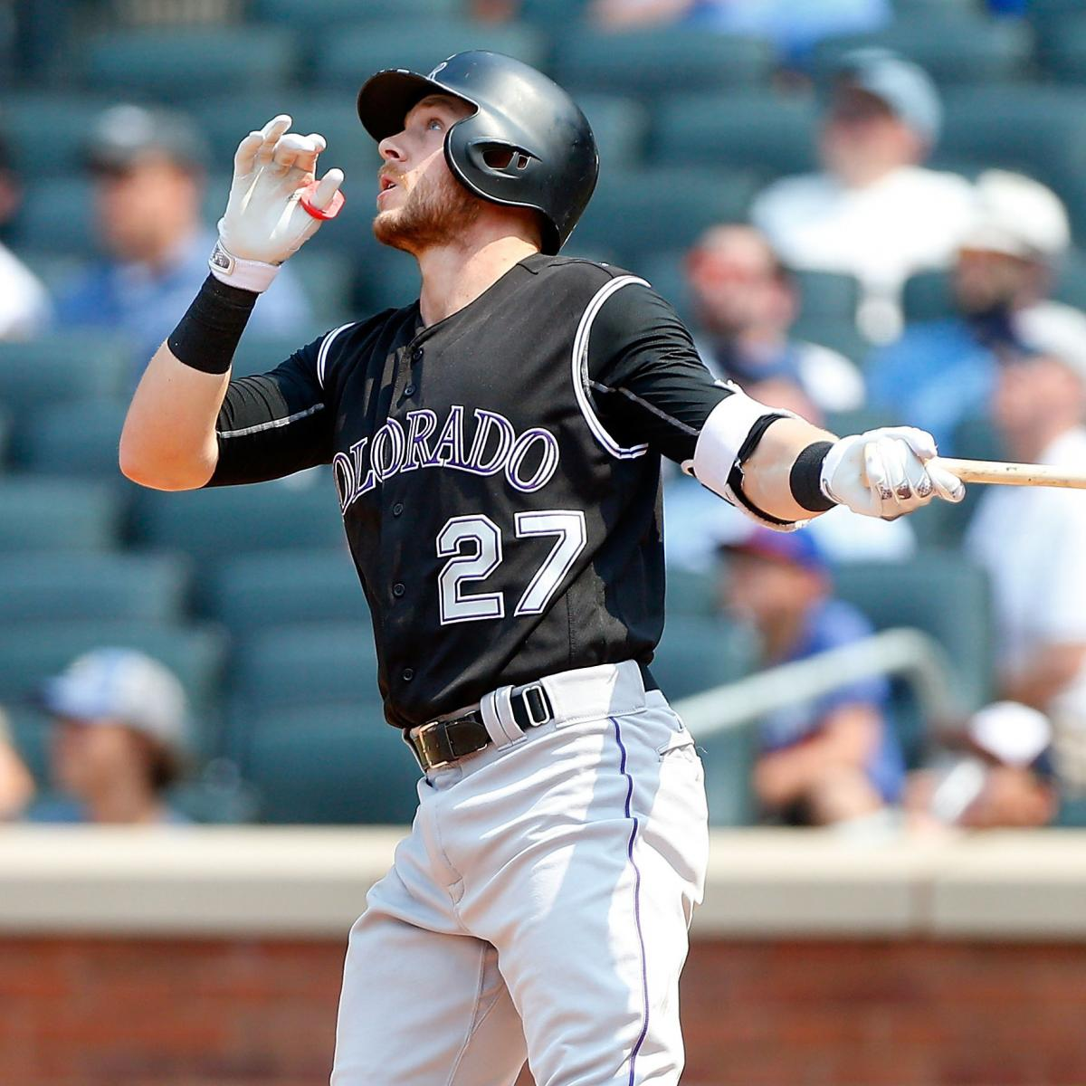 trevor story falls just of shortstop rookie record for