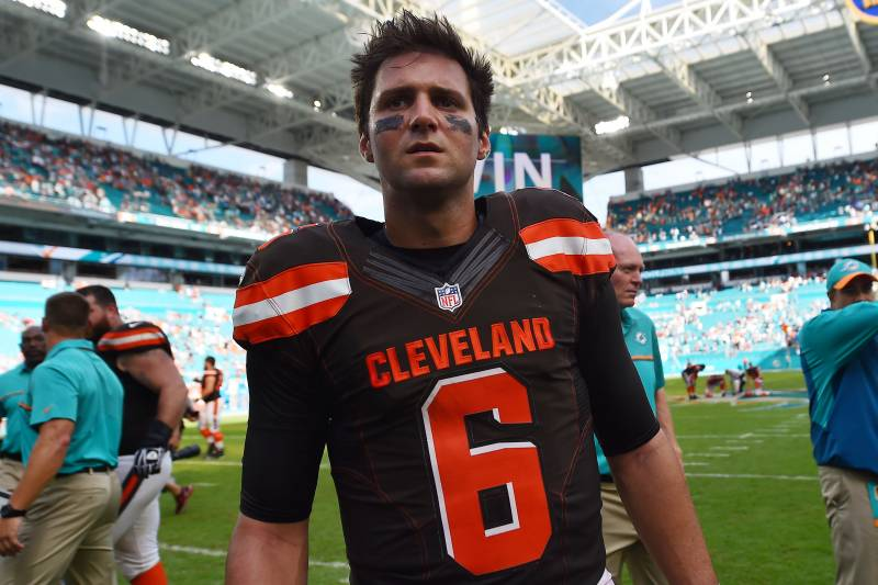 reputable site b139d edc42 Cody Kessler Injury: Updates on Browns QB's Concussion and ...