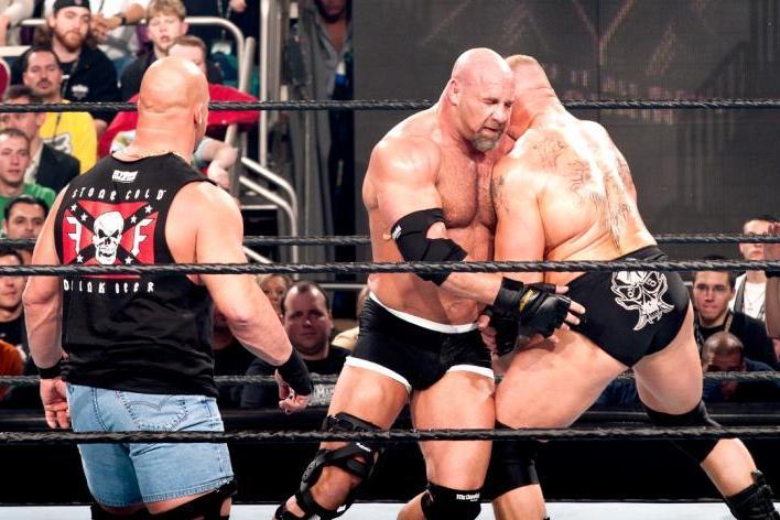 How WWE Can Fully Maximize Goldberg's Feud vs. Brock Lesnar ...