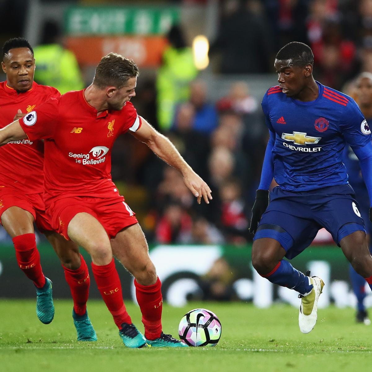 Psg Vs Manchester City Live Score Highlights From: Liverpool Vs. Manchester United: Live Score, Highlights