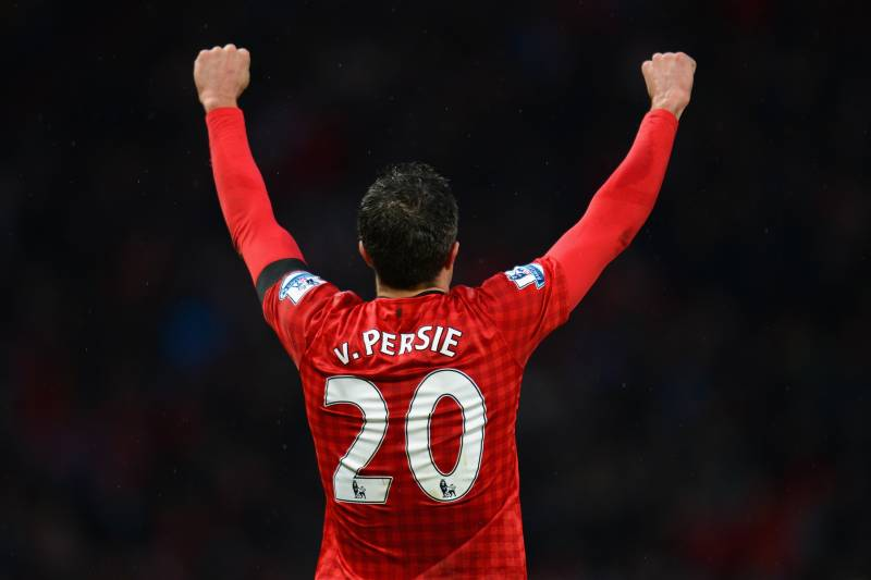 separation shoes 76d9f 36c7c Robin van Persie Returns to United, Where He Left Behind a ...