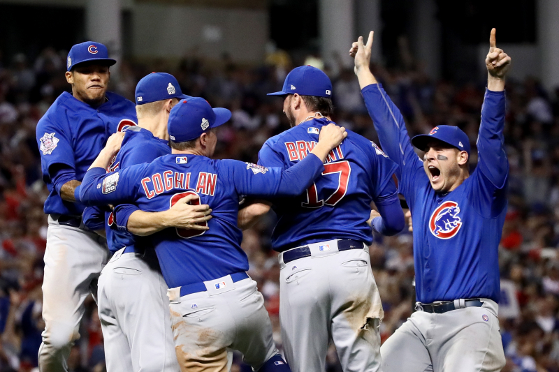 Rain Delay Speech Helps End Drought as Chicago Cubs Win Historic World Series