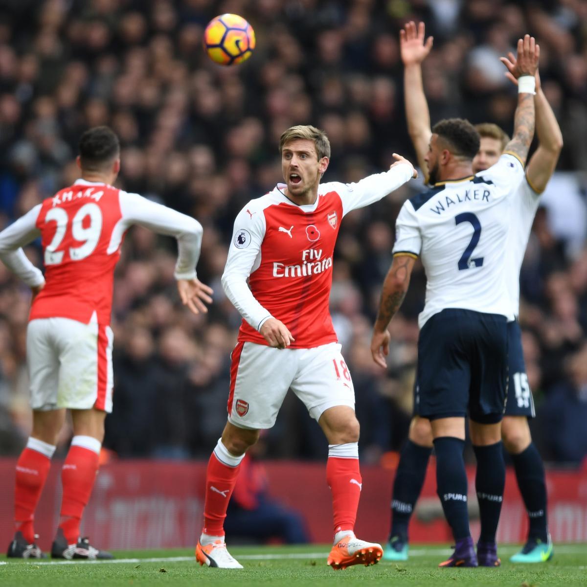 Arsenal Vs Tottenham Live Score Highlights From Premier