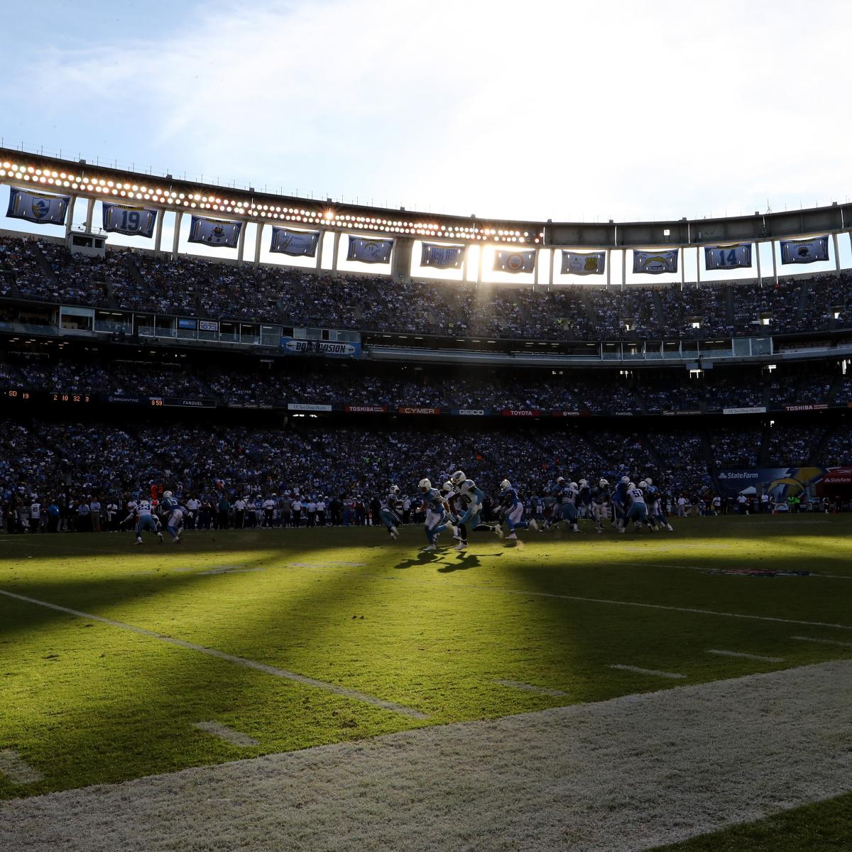 San Diego Chargers Football Field: Chargers Stadium Deal Rejected By San Diego Voters: Latest