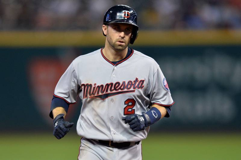 timeless design 94c3a e484a Brian Dozier Traded from Twins to Dodgers for Logan Forsythe ...