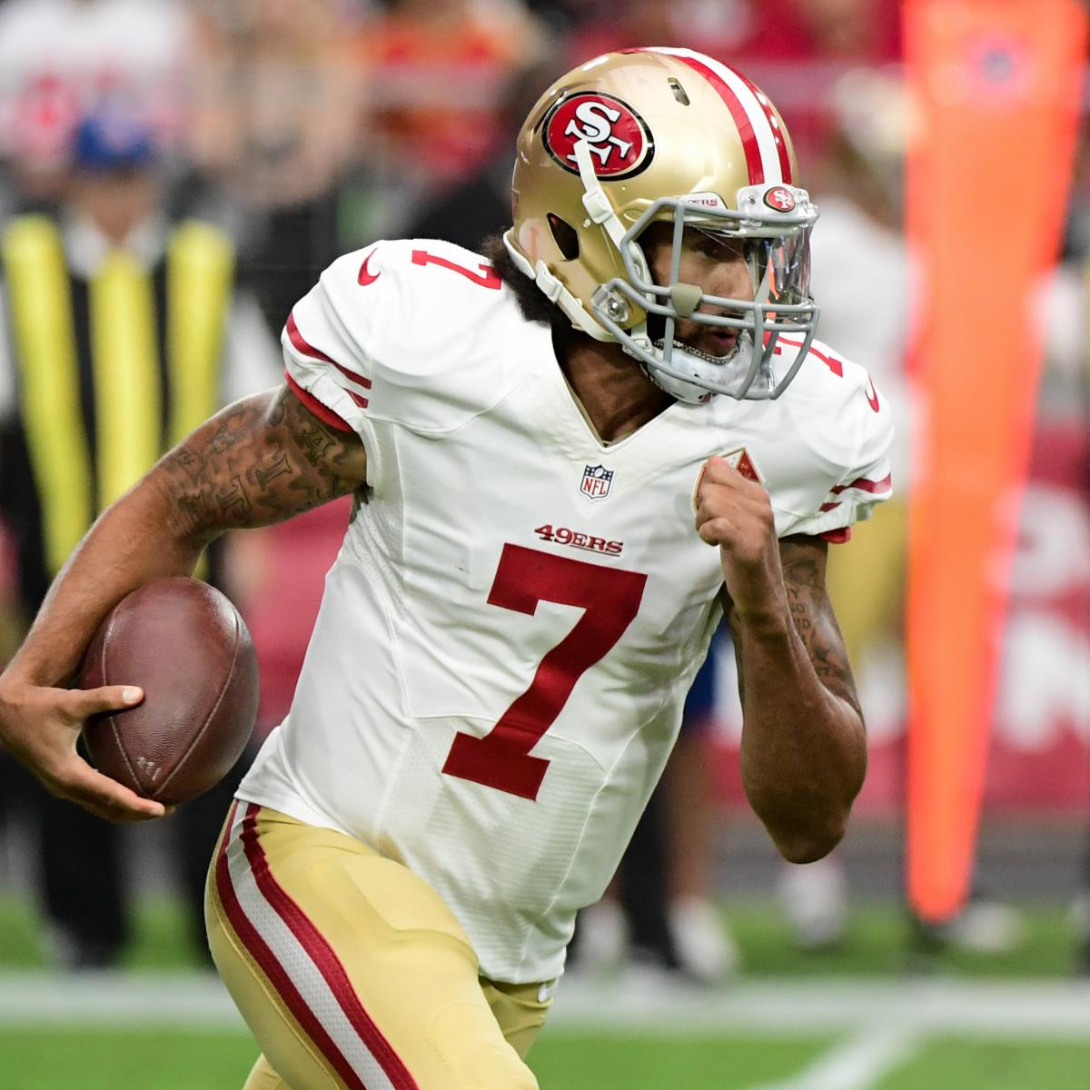 San Diego Chargers Fantasy Football Names: Week 11 Waiver Wire: Colin Kaepernick, Taylor Gabriel