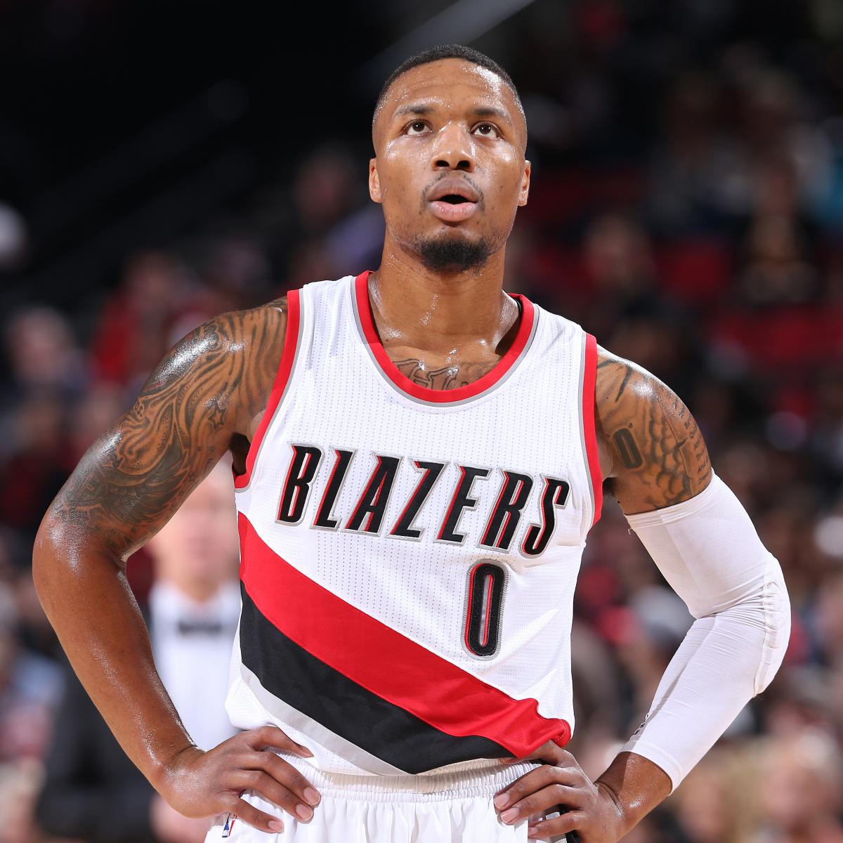 Portland Blazers Defensive Rating: Damian Lillard Comments On Trail Blazers' Play After Loss
