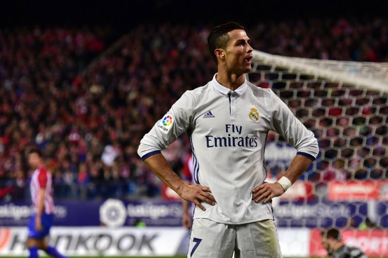 Atletico Madrid Vs Real Madrid Score And Reaction From 2016 La