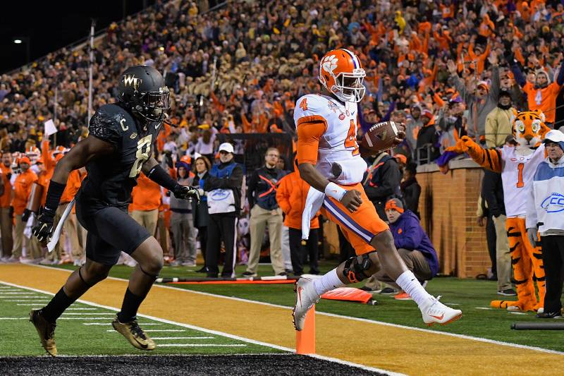 Clemson Vs Wake Forest Live Score Highlights For Tigers