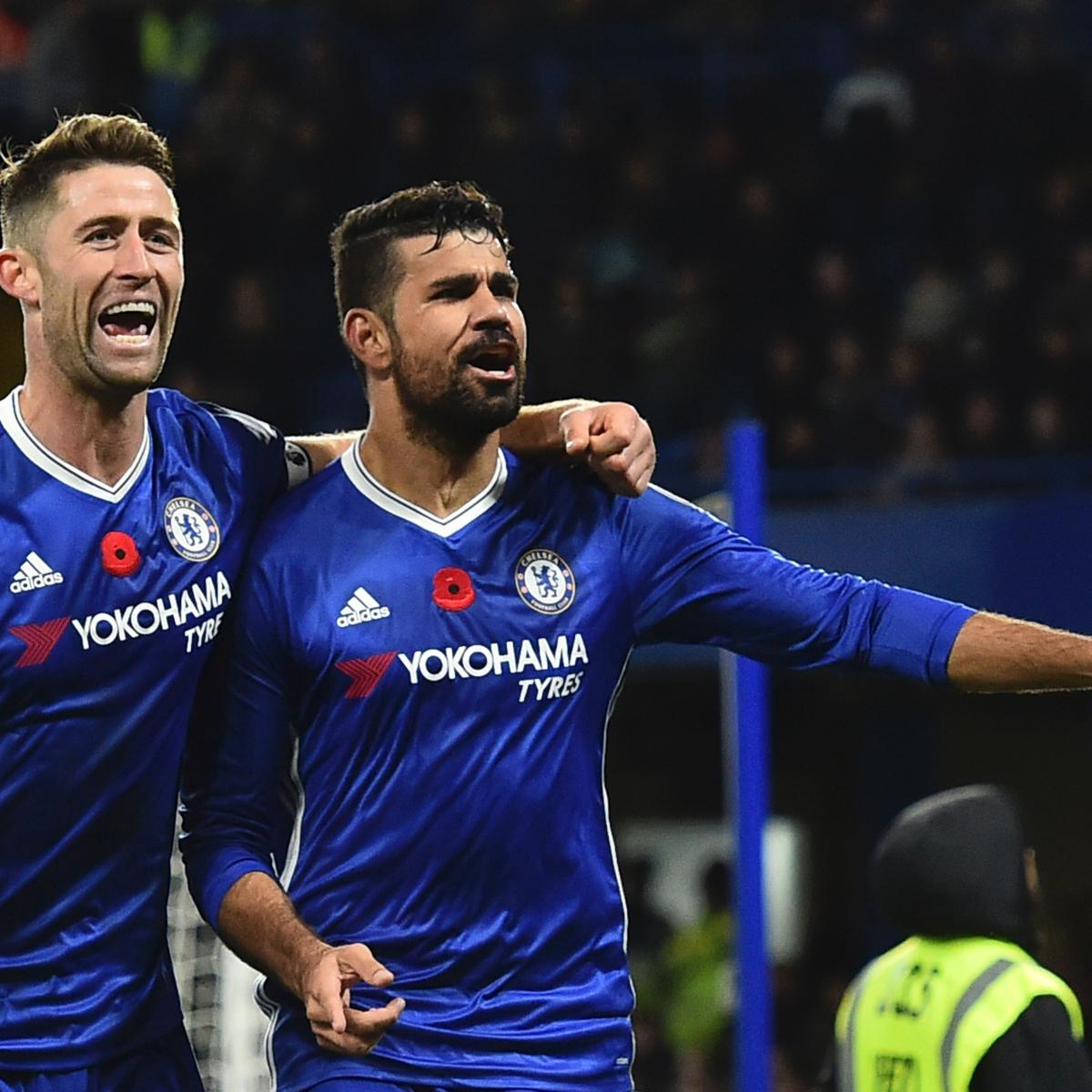 Chelsea Vs Tottenham Score Reaction From 2016 Premier: Chelsea Vs. Tottenham: Live Score, Highlights From Premier