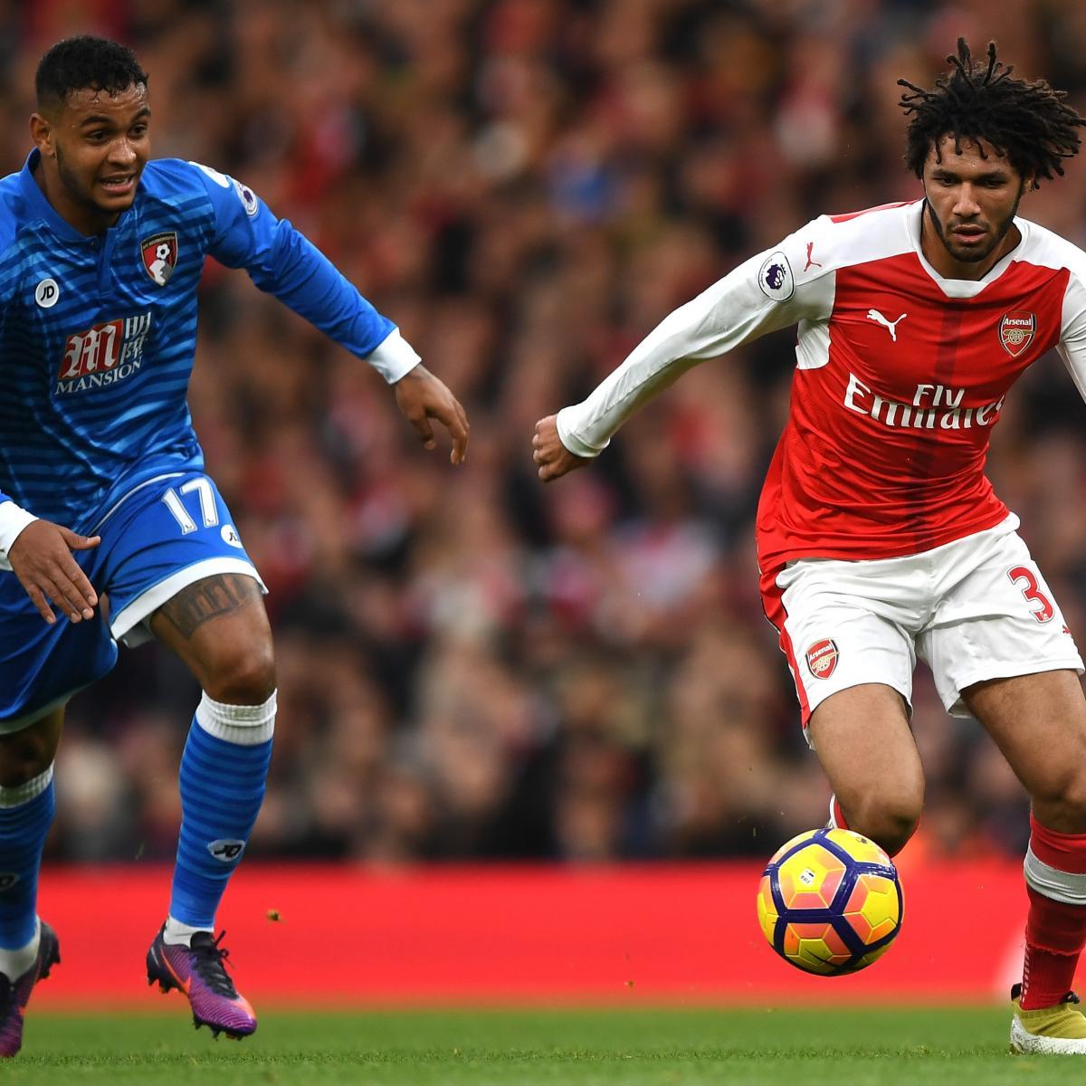 Arsenal Vs Tottenham Live Score Highlights From Premier: Arsenal Vs. Bournemouth: Live Score, Highlights From