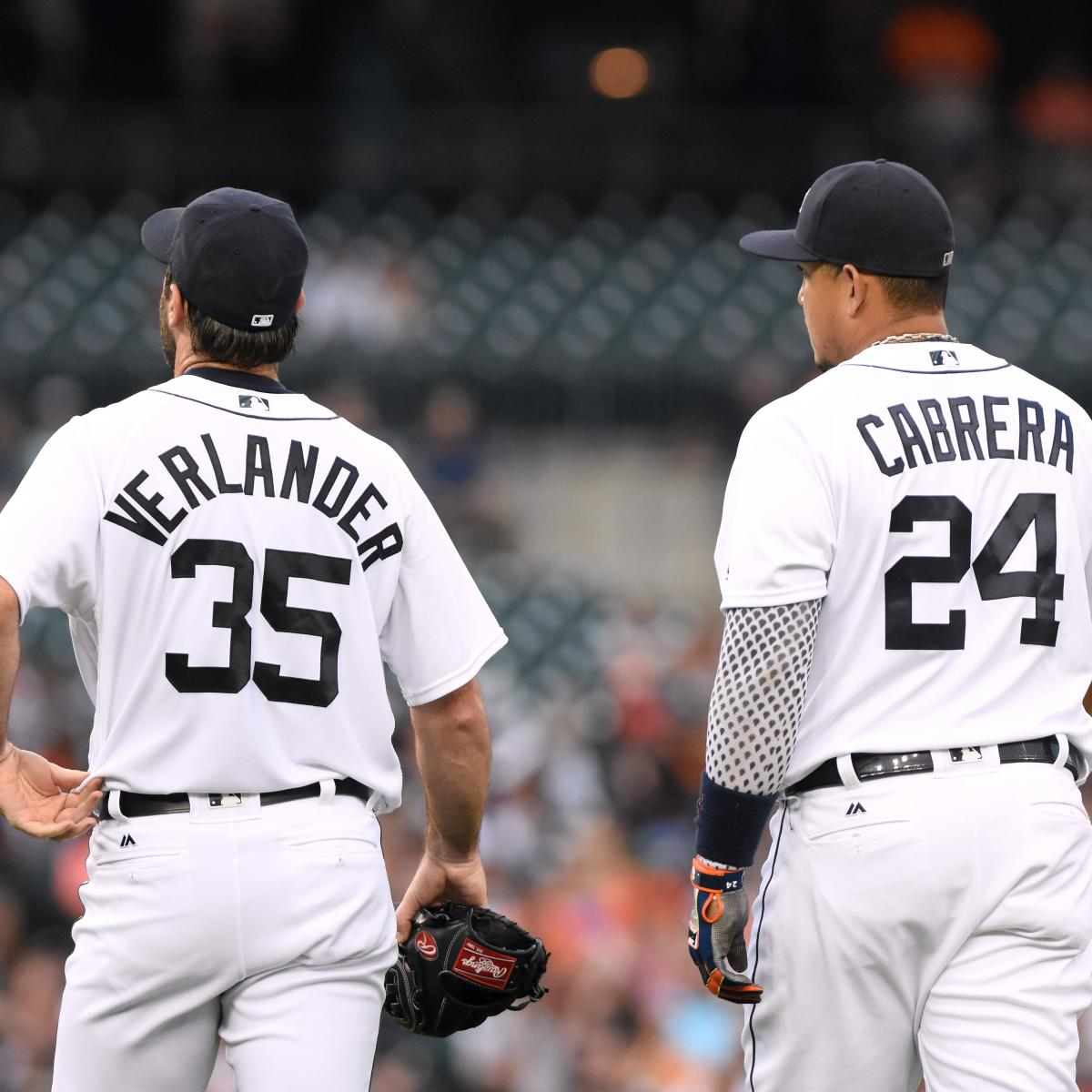 Miguel Cabrera, Justin Verlander Facing Uncertain Tigers