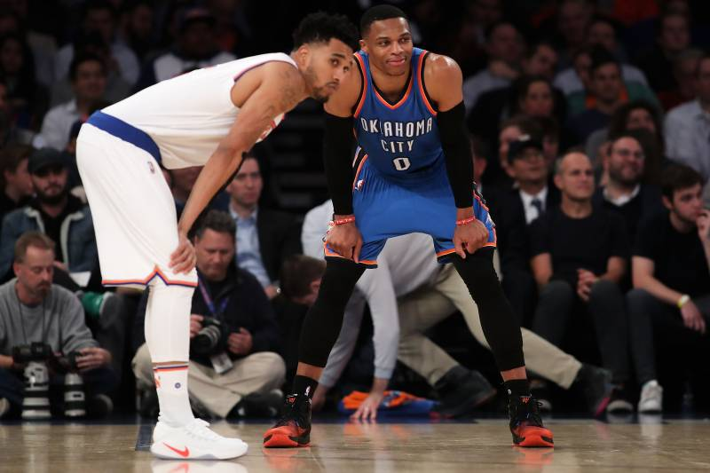 b583e141a4d7 Russell Westbrook Ties LeBron James for Active Lead in Triple ...