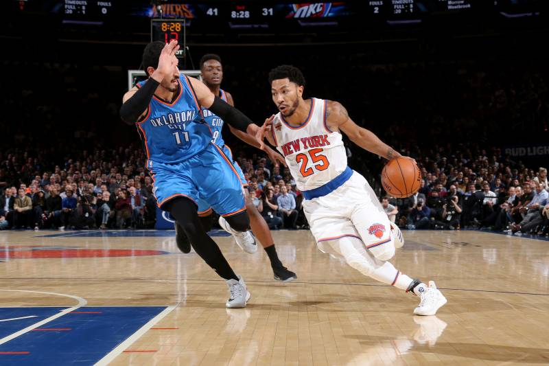 83e30307b6cc Derrick Rose Creates Looming Decision for New York Knicks at Point Guard