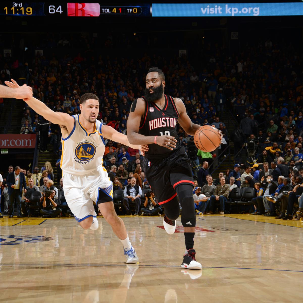 Rockets Vs Warriors Score: Rockets Vs. Warriors: Score, Highlights, Reaction From