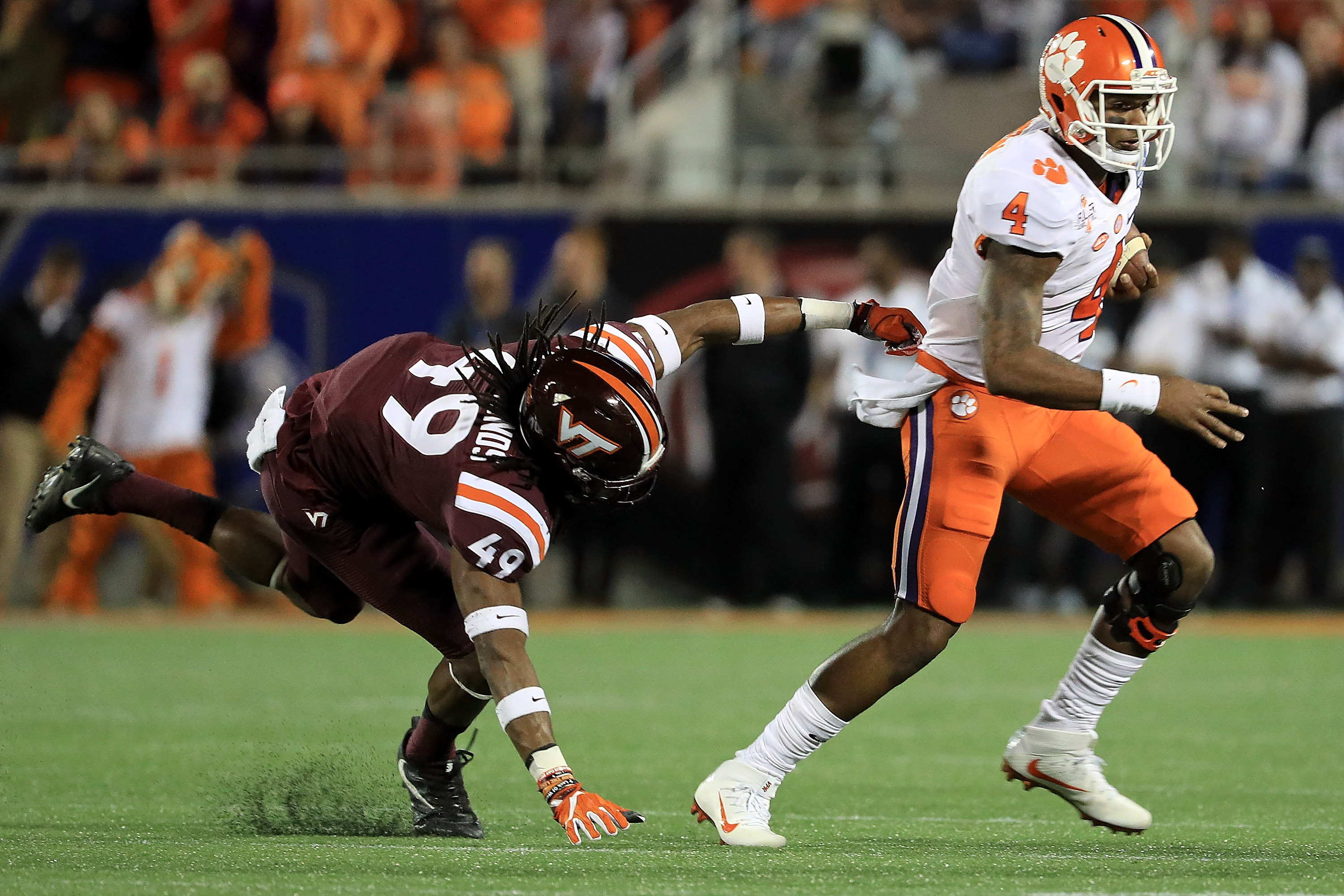 Clemson Vs Virginia Tech Score And Reaction From 2016 Acc Championship Bleacher Report Latest News Videos And Highlights
