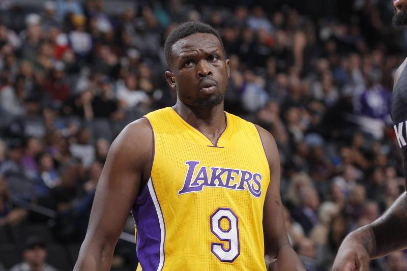 fdd74fb7274 Los Angeles Lakers Not Getting Their Money s Worth in Luol Deng ...