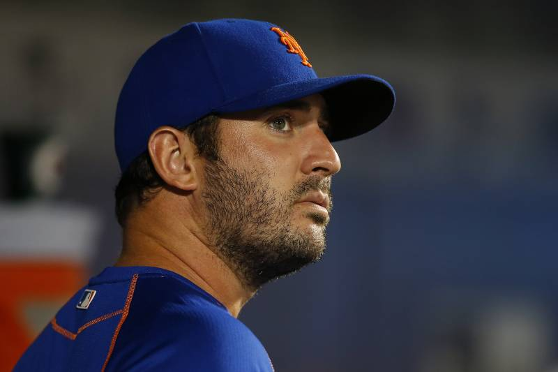 Matt Harvey Comments On Recovery From Thoracic Outlet